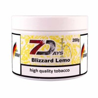 Табак 7Days Blizzard Lemo (Лимонная Пурга) - 200 грамм