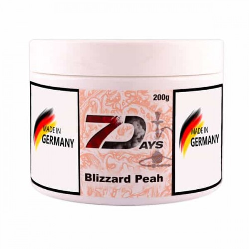 Табак 7Days Blizzard Peach (Снежный Персик) - 200 грамм
