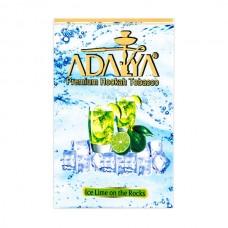 Табак Adalya Ледяной Лайм - 50 грамм