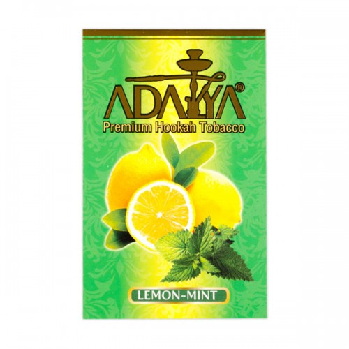 Табак Adalya Лимон Мята - 50 грамм