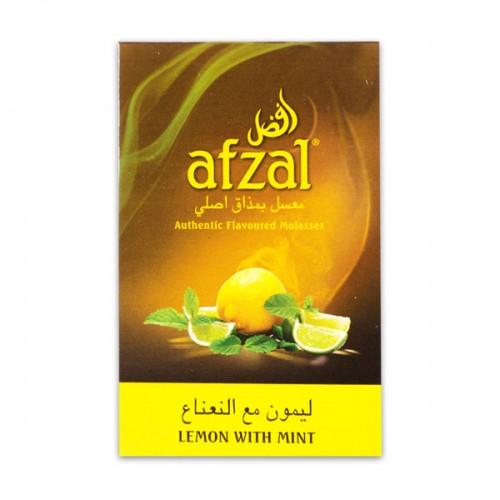 Табак Afzal Lemon with Mint (Лимон с Мятой) - 50 грамм