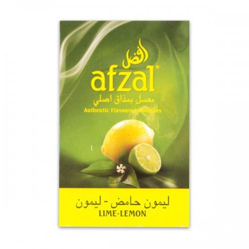 Табак Afzal Lime Lemon (Лайм Лимон) - 50 грамм