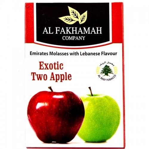Табак Al Fakhamah Двойное Яблоко - 50 грамм