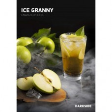 Табак Darkside Medium Ice Granny (Ледяное Яблоко) - 250 грамм