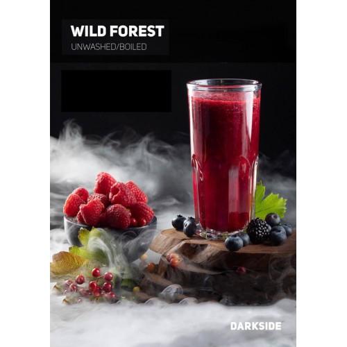 Табак Darkside Medium Wild Forest (Дикая Земляника) - 100 грамм