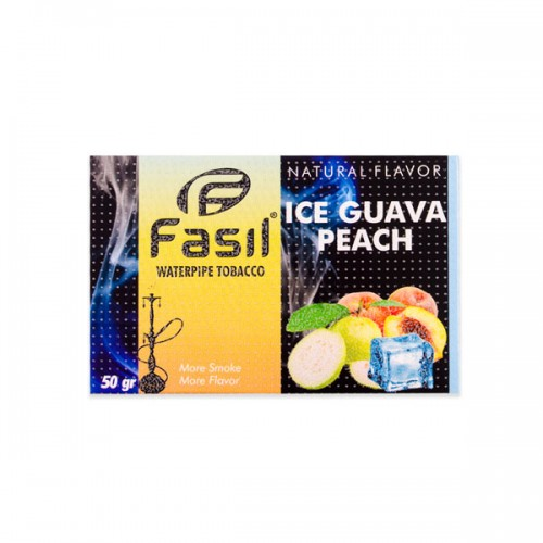 Табак Fasil Лед Гуава Персик - 50 грамм