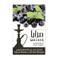Табак Mazaya  Blueberry with Mint (Черника с Мятой)  - 50 грамм