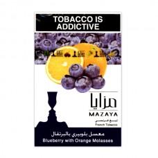 Табак Mazaya Blueberry with Orange (Черника Апельсин) - 50 грамм
