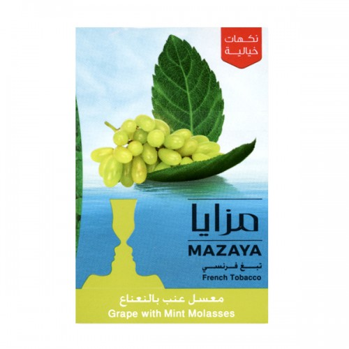 Табак Mazaya Grape with Mint (Виноград c Мятой) - 50 грамм