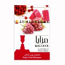 Табак Mazaya Ruby Crush (Малиновое Мороженое) - 50 грамм