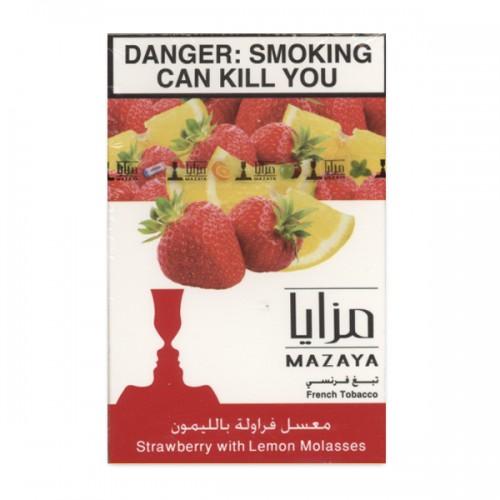 Табак Mazaya Strawberry Lemon (Клубника с Лимоном) - 50 грамм