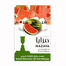 Табак Mazaya Watermelon with Gum (Арбуз с Жвачкой) - 50 грамм