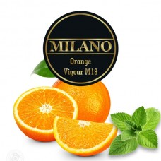 Табак Milano Orange Vigour (Апельсин Мята) - 100 грамм