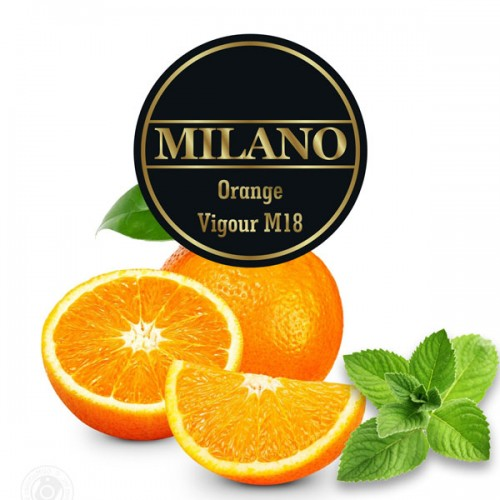Табак Milano Orange Vigour (Апельсин Мята) - 100 грамм