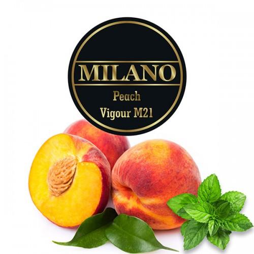 Табак Milano Peach Vigour (Персик Мята) - 100 грамм
