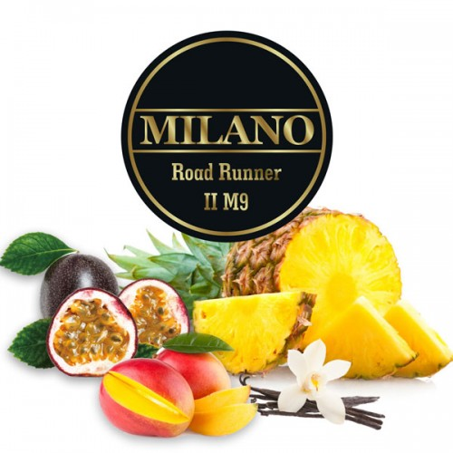 Табак Milano Road Runner 2 (Дорожный Беглец) - 100 грамм