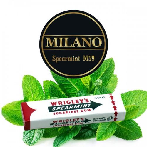 Табак Milano Spearmint  (Мятная Жвачка) - 100 грамм