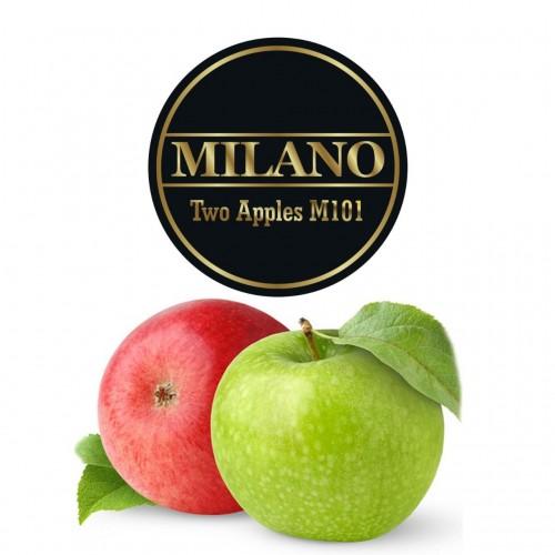 Табак Milano Two Apples (Двойное Яблоко) - 100 грамм