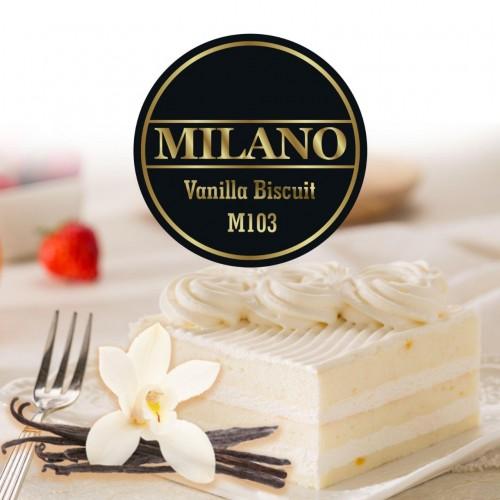 Табак Milano Vanilla Biscuit (Ванильный Бисквит) - 100 грамм