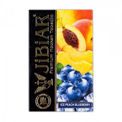 Табак Jibiar Ice peach blueberry (Лед Персик Черника) - 50 грамм
