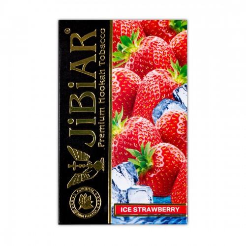 Табак Jibiar Ice Strawberry (Ледяная Клубника) - 50 грамм
