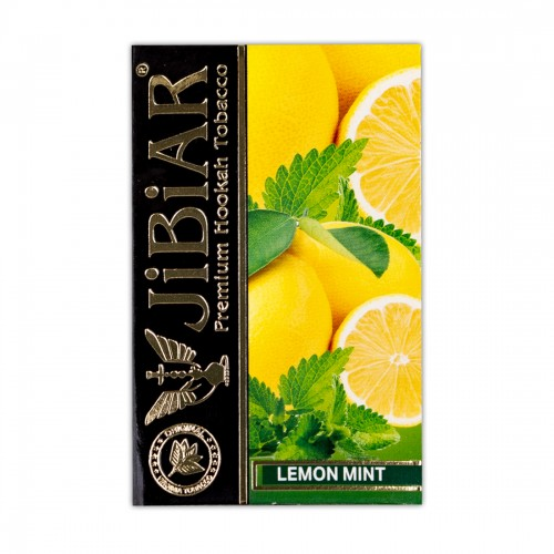 Табак Jibiar Lemon Mint (Лимон Мята) - 50 грамм