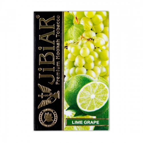 Табак Jibiar Lime Grape (Лайм Виноград) - 50 грамм