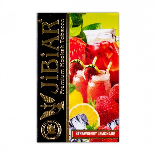 Табак Jibiar Strawberry Lemonade (Клубничный Лимонад) - 50 грамм