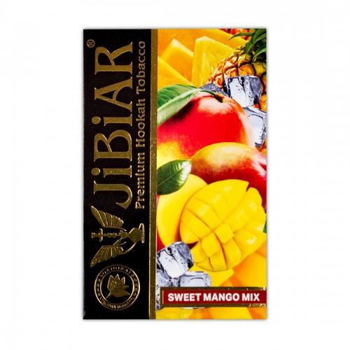 Табак Jibiar Sweet Mango Mix (Сладкий манговый микс) - 50 грамм