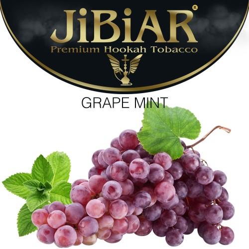 Табак Jibiar Grape Mint (Грейп Минт) - 100 грамм
