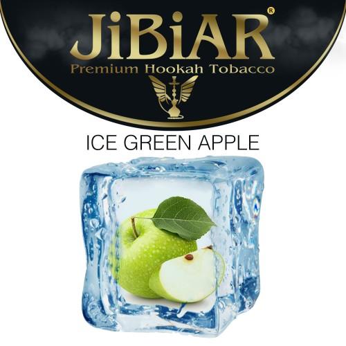 Табак Jibiar Ice green apple (ледяное зеленое яблоко) - 100 грамм