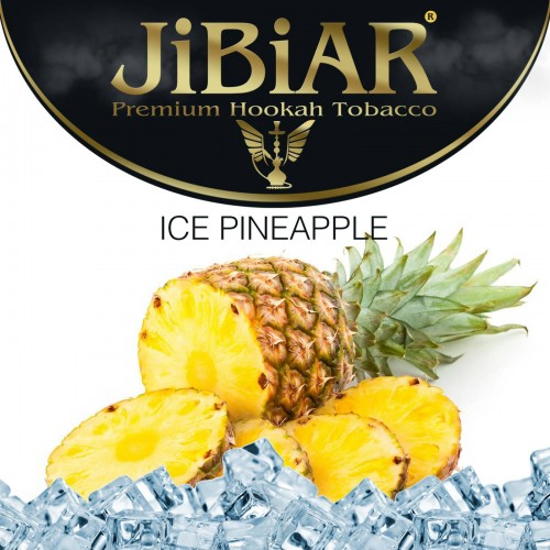 Табак Jibiar Ice Pineapple (Лед Ананас) - 100 грамм