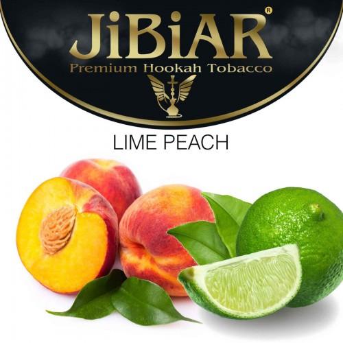 Табак Jibiar Lime Peach (Лимонный Персик) - 100 грамм