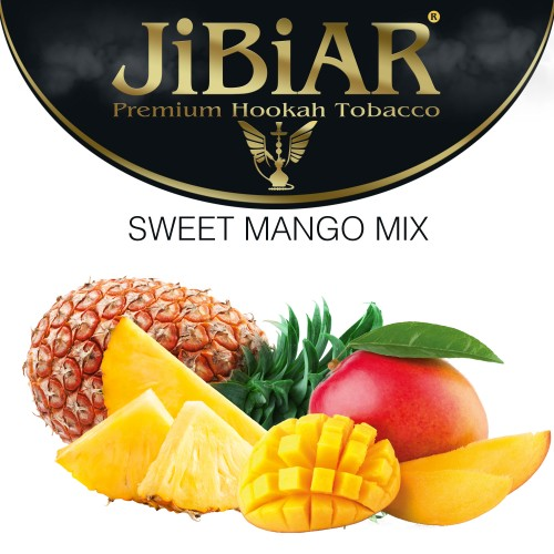Табак Jibiar Sweet Mango Mix (Сладкий манговый микс) - 100 грамм