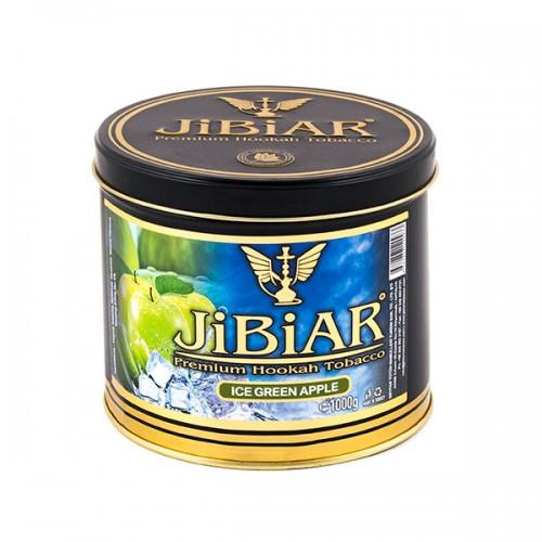Табак Jibiar Ice green apple (ледяное зеленое яблоко) -  1 кг