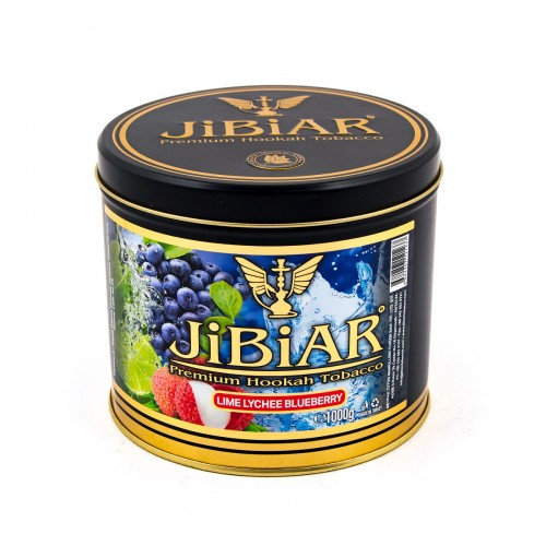 Табак Jibiar Lime Lychee Blueberry (Лайм Личи Черника) - 1 кг