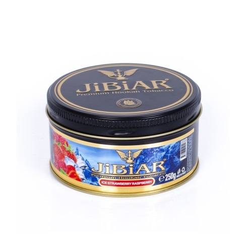 Табак Jibiar Ice Strawberry Raspberry (Лед Клубника Малина) - 250 грамм