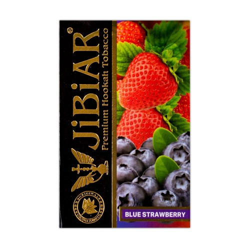Табак Jibiar Blue Strawberry (Голубая Клубника) - 50 грамм