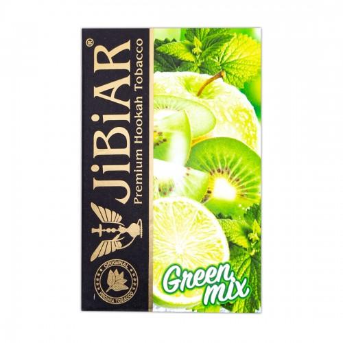 Табак Jibiar Green Mix (Зеленый Микс) - 50 грамм