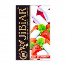Табак Jibiar Gum Strawberry (Клубничная жвачка) - 50 грамм