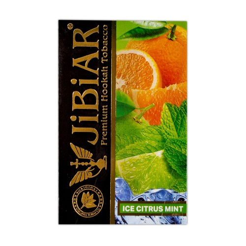 Табак Jibiar Ice Citrus Mint (Лед Цитрус Мята) - 50 грамм