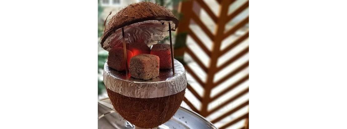Кокосовая чаша для кальяна