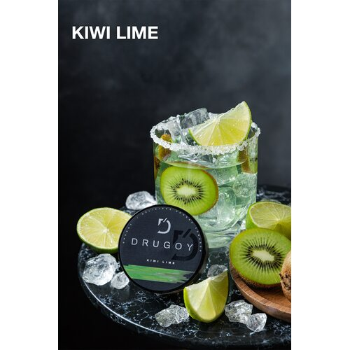 Табак Drugoy Kiwi Lime (Киви Лайм) - 100 грамм