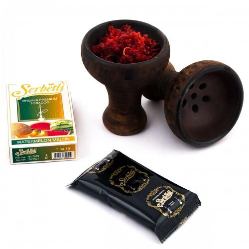 Табак Serbetli Клубнично Шоколадный Пирог - 50 грамм