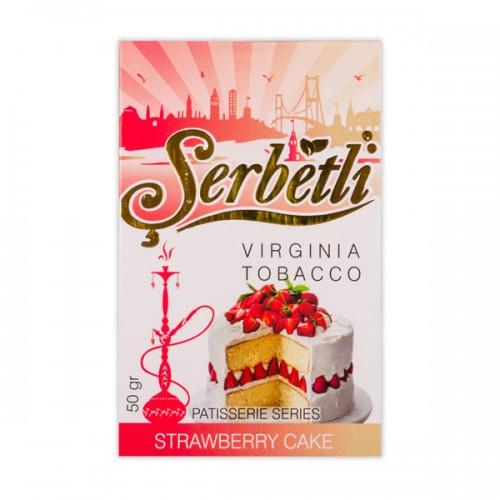 Табак Serbetli Клубничный Пирог - 50 грамм