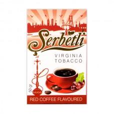Табак Serbetli Красное Кофе - 50 грамм