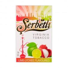 Табак Serbetli Лайм Личи - 50 грамм