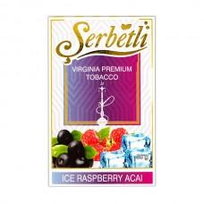 Табак Serbetli Лед Асаи Малина - 50 грамм