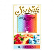 Табак Serbetli Лед Ягоды Персик - 50 грамм