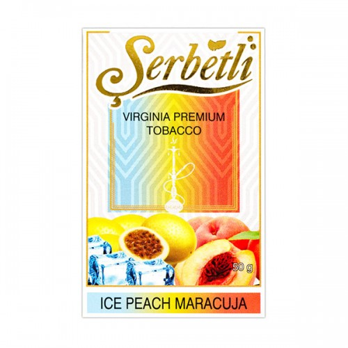 Табак Serbetli Лед Персик Маракуйя - 50 грамм